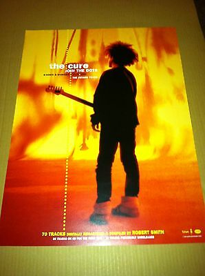 THE CURE 2004 PROMO POSTER CARDSTOCK for Join The Dots Box Set CD USA MINT 18x24