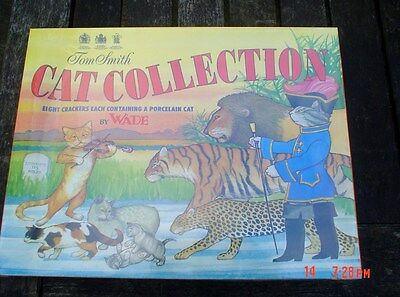 Wade Tom Smith Cat Collection Christmas Crackers