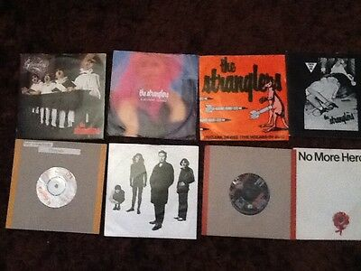 """THE STRANGLERS 8x7"""" SINGLES COLLECTION. SEE PICTURES FOR TITLES"""
