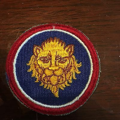 WWII era US ARMY 106th INFANTRY DIVISION patch Golden Lion