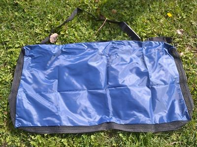 Saddle Pad Blanket Carrier Bag Tote BLUE Horse Tack Western English Vented NEW