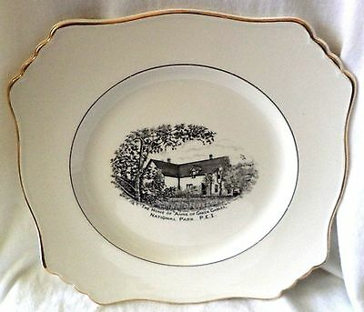"""Anne Of Green Gables Collectors Plate Royal Winton Grimwades 9"""" Square"""