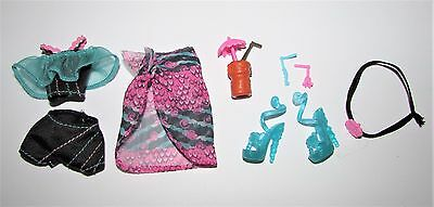 Clothes & Shoes etc from Monster High Skull Shores Lagoona Blue Doll