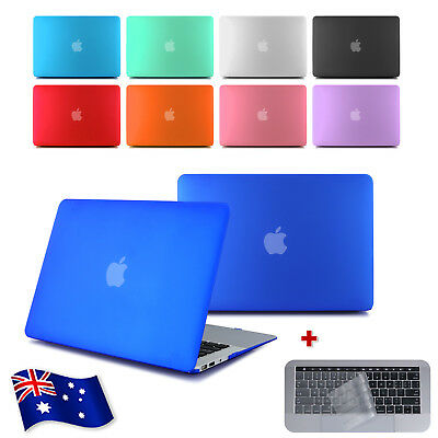 """Matte Frosted Crystal Case Keyboard Cover MacBook Pro Air 11"""" 12"""" 13"""" 15"""" Retina"""