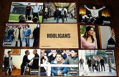 GREEN STREET HOOLiGANS Elijah Wood Football Hunnam Forlani 8 FRENCH LOBBY CARDs