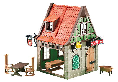 NEW and COMPLETE Playmobil Knights - Medieval Tailor Shop 6463
