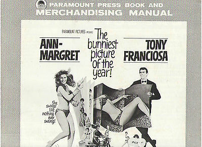 Ann Margret The Swinger Pressbook Tony Franciosa Robert Coote Dory Andre Previn