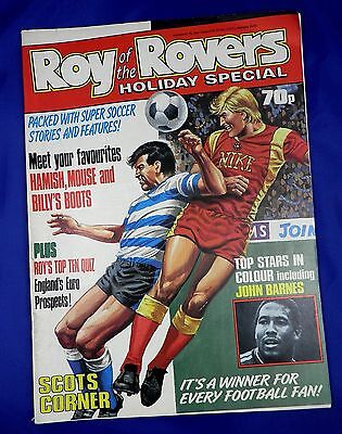 Roy of The Rovers Holiday Special Comic 1988