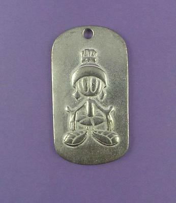 Marvin The Martian - Warner  Bros Dog Tag Pendant / Key Fob - Unused Stock