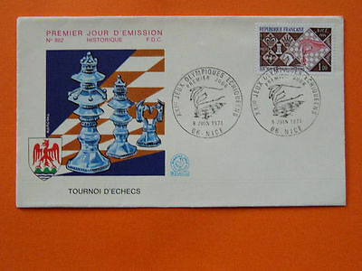 chess world cup 1974 FDC (more CHESS in store) 30640