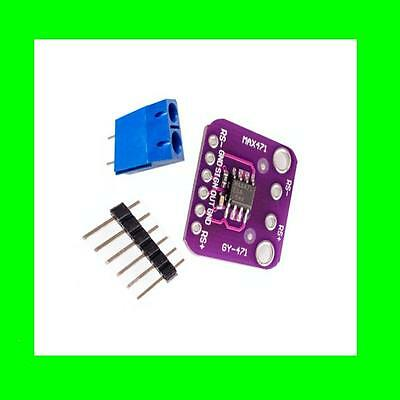 MAX471 3A Range Voltage Current Sensor Volt Amp Test Sensors Module for Arduino