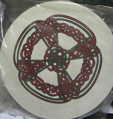 "Irish MUSIC 18"" KNOTWORK BODHRAN DRUM BEATER DVD COVER 4Items"