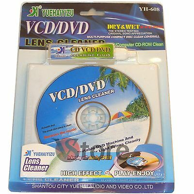 CD Pulisci Lente Lettore DVD VCD Lens Pulizia Cleaner Compact Disc Computer