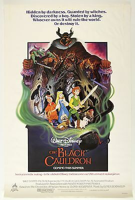 The Black Cauldron Laminated Mini Movie Poster Disney A4 Print