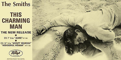 THE SMITHS THIS CHARMING MAN MINI REPRO LAMINATED A4 POSTER PRINT morrisey