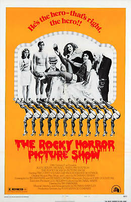 Rocky Horror Picture Show Laminated Mini A4 Poster No 1