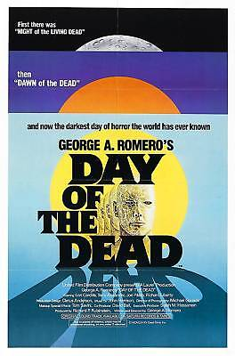 Day Of The Dead Laminated A4 Mini Poster Romero Zombies