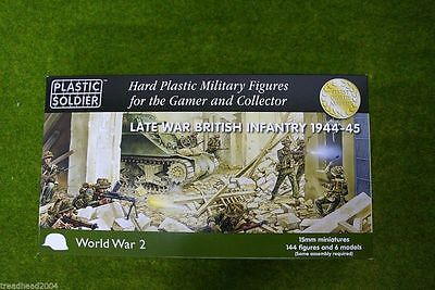 Plastic Soldier Company WW2 Late War BRITISH Infantry 1944 – 45 15mm
