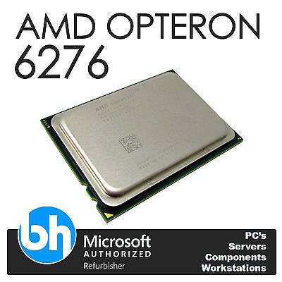 AMD Opteron 6276 2.30GHz Sixteen Core CPU 16MB L3 Connettore Cache G34