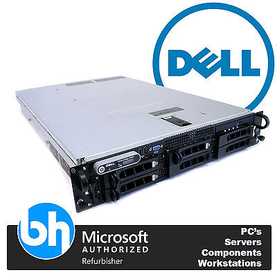Dell 2950 R2 PowerEdge 2x Dual Core 3.00GHZ 8GB RAM PERC RAID Server 2U