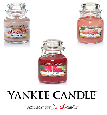 NEW Yankee Candle Small 3.7oz Jar - Various Scented Fragranced Candles