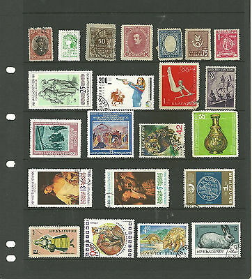 Bulgaria  3 stock sheets mix collection stamps