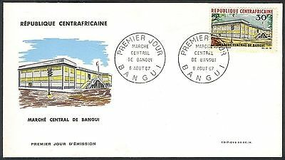 Central African Republik, 1967, Bangui Shopping Mall, FDC
