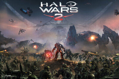 "HALO WARS 2 - GAMING POSTER / PRINT (GAME COVER / KEY ART) (SIZE: 36"" x 24"")"