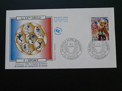 football world cup 1998 FDC 58621