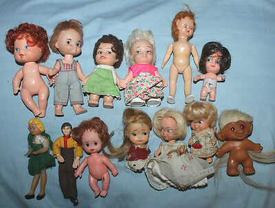 1960's - 1970's Small Baby Doll Lot