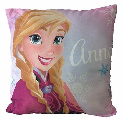 DISNEY FROZEN ELSA ANA OLAF 'ETERNAL' Printed Plush Cushion 40cm x 40cm