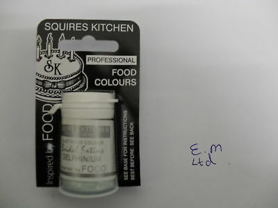 SquiresKitchen BRIDAL SATINS Edible Food Dust Powder Colouring for Cake Icing 4g
