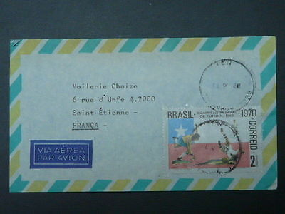 football world cup 1962 stamp commercial cover Brazil 52290