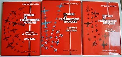 Histoire De L'aeronautique Francaise 3 Volumes Jacques 1983 France Empire