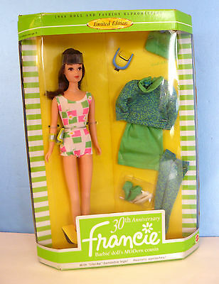 BARBIE~Cousin FRANCIE Gad-About REPRODUCTION 30TH ANNIVERSARY(1996) MATTEL