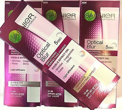 GARNIER OPTICAL BLUR 5sec SMOOTHING PERFECTING PRIMER 30ml NEW & BOXED