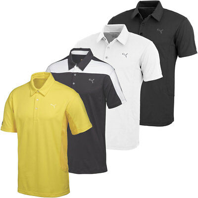 53% OFF RRP Puma Golf Mens CB Tech Golf Polo Shirt 568246 DryCELL Performance