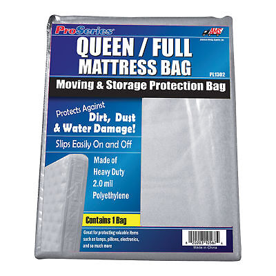 American Moving Supplies ProSeries Mattress Bag-Full/Queen size bed #PL1302