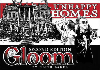 Gloom: Unhappy Homes 2nd Edition ATG 1352