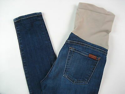 7 Seven For All Mankind Maternity Jeans Skinny Stretch 25 XS