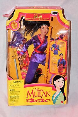 1997 Mattel Disney Secret Hero Mulan Barbie Doll