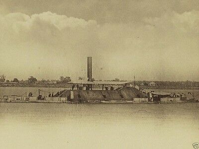New 8x10 Civil War Photo - Confederate ironclad ram ship CSS Tennessee at Mobile