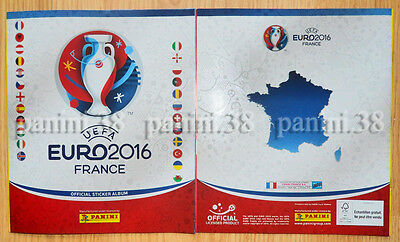"Rare !! French Edition White Album Panini ""euro 2016"" Empty New"