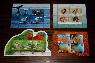 * Niue Mint Stamp Miniature Sheets - Select Individual Miniature Sheet