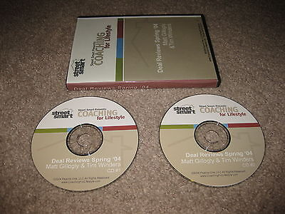 Real Estate Street Smart Coaching Lifestyle Deal Reviews Spring '04 Winders 2 CD