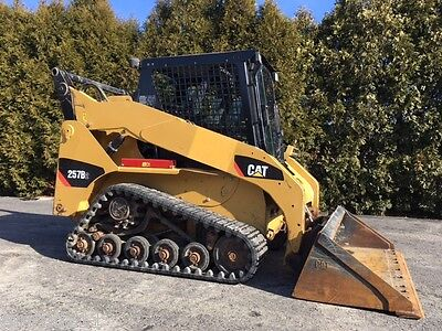 2010 CAT 257B2 Rubber Track Skid Steer Loader