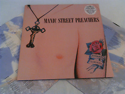 Manic Street Preachers - Generation Terrorists 2X Lp + Inners N. Mint!! Original