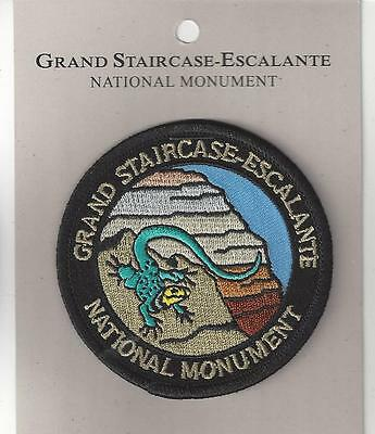 Grand Staircase-Escalante National Monument Souvenir Patch - Utah