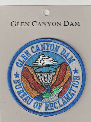 Glen Canyon Dam Bureau Of Reclamation Souvenir Patch - Utah