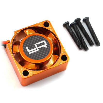Orange Tornado Hi Flow cooling fan for 1:10 RC use 25mm x 25mm HTN-304OR sut HPI